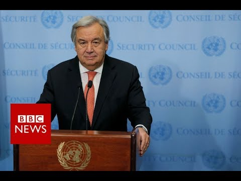 UN Secretary General: No Alternative to two State solution - BBC News