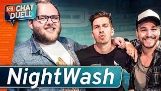 Chat Duell #73 | NightWash gegen Gregor, Dennis & Fabian Krane