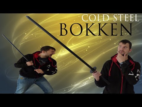 Reviewing The 'Cold Steel Bokken'