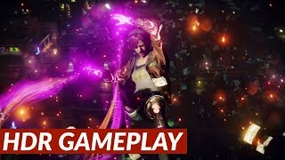 inFamous: First Light - HDR gameplay [PS4 Pro]