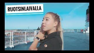 RUOTSINLAIVALLA & GRÖNA LUNDISSA KAVEREIDEN KANSSA | Nelli Orell ♡