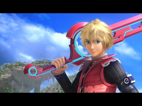 Super Smash Bros - Shulk Reveal Trailer