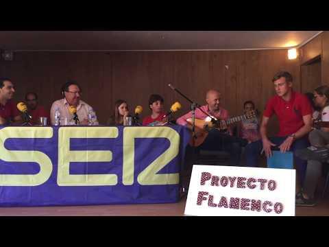 Salvador Andrades en IES Garcia Lorca para Hoy por Hoy Campo de Gibraltar, Radio Algeciras