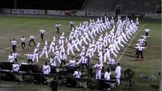 East River HS Vanguard at Tarpon Springs Outdoor Music Festival 2012