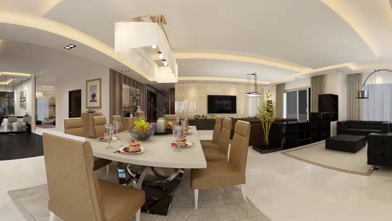 360 Living Room Animation