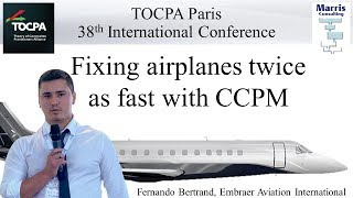 (En) Fixing airplanes twice as fast with CCPM