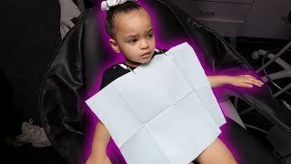ZOE'S FIRST DENTIST APPOINTMENT!!! (SORRY ZOE!) | HEATHER AND TRELL