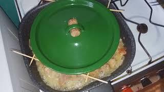 Креатифф - как накрыть круглой крышкой квадратную сковороду.
