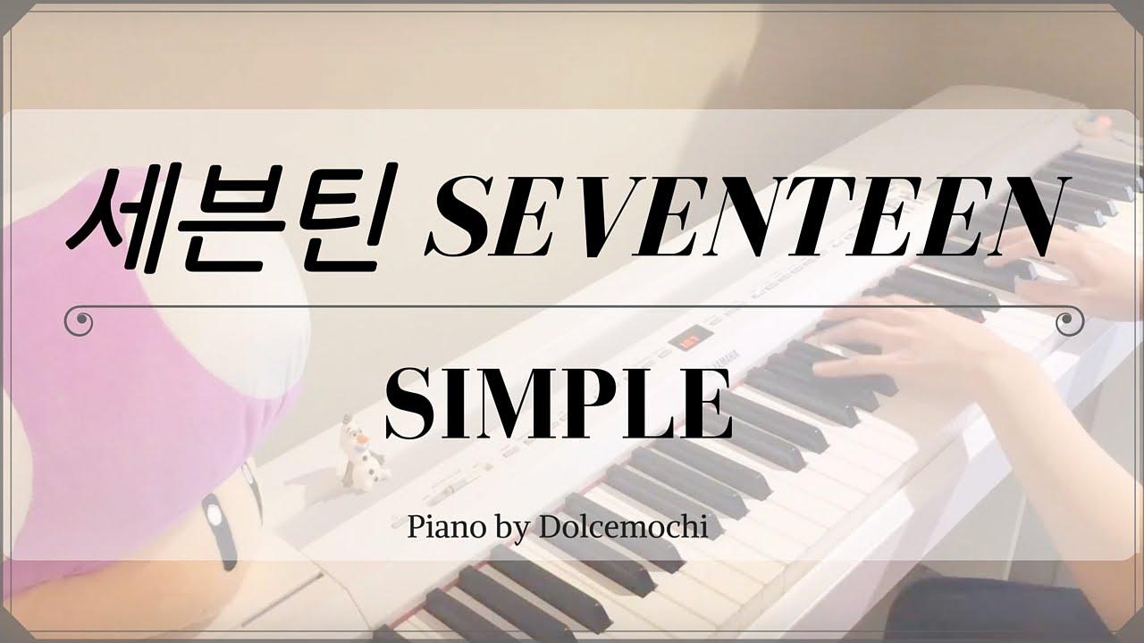 세븐틴 SEVENTEEN - SIMPLE (PIANO) Chords - Chordify