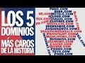 TOP 5 - Los 5 Dominios más caros de la historia