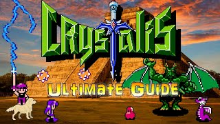 #Crystalis #NES Crystalis NES - Ultimate Guide - 100% ALL Bosses, ALL Items, Deathless