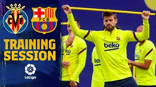 Back to work for Villarreal - Barça