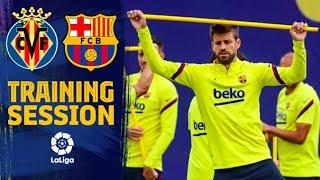 Back To Work For Villarreal - Barça
