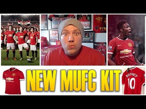 Manchester United NEW 14/15 KIT Revealed