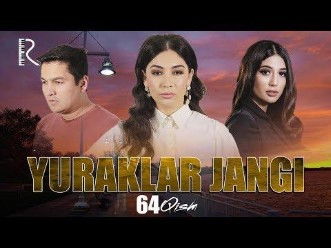 Yuraklar Jangi (o'zbek Serial) | Юраклар жанги (узбек сериал) 64-qism #UydaQoling
