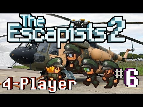 The Escapists 2: 4-Player - #6 - Get To Da Choppa! (4-Player Gameplay)