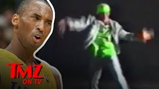 Kobe Bryant Shares A Video Of Himself Dancing When He Was Young | TMZ TV