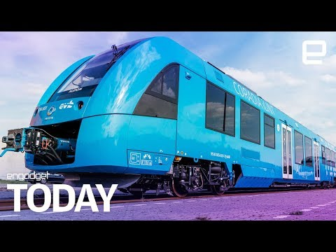 The world's first hydrogen-powered train has started running