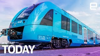 The world's first hydrogen-powered train has started running in Germany | Engadget Today