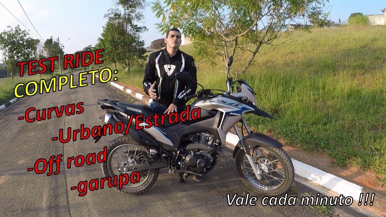 TEST RIDE HONDA XRE 190 ABS - COMPLETO moto sem roteiro encara tudo - Durvalcareca