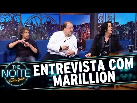 The Noite (27/04/16) - Entrevista com a banda Marillion