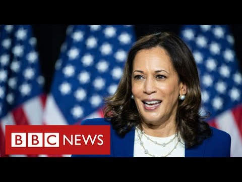 Kamala Harris makes history as first black woman Vice President - BBC News