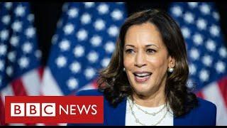 Kamala Harris makes history as first black woman Vice President - BBC News