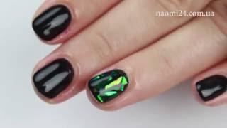 видео Маникюр «битое стекло»