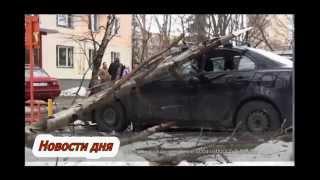 Капец, на Печорской улице в СВАО на автомобили упало дерево(Самые свежие новости со всего мира! На северо-востоке Москвы во время сильного порывистого ветра на автомоб..., 2015-02-01T16:19:14.000Z)