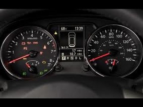 HOW TO RESET OIL SERVICE LIGHT NISSAN ROGUE