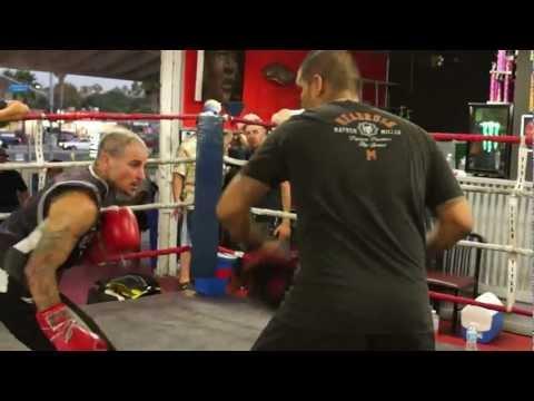 Alan Roach - Pad Work @ Legacy Training Center 9/20/2012