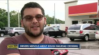 Drivers complain of rough railway track in Lakeland