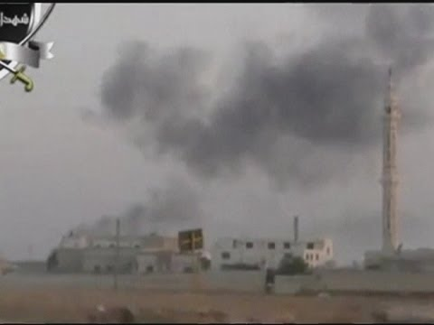 Syrian rebels shoot down fighter jet