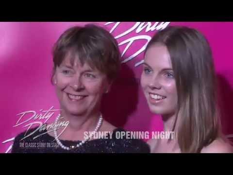 Dirty Dancing Sydney Opening Night 'Pink' Carpet