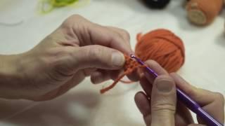 Вязание крючком для начинающих - первая петля крючком