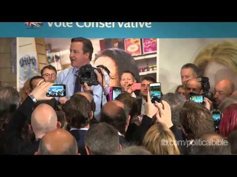 David Cameron Pumped Up