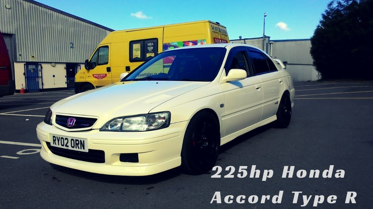 honda accord type r championship white 225hp youtube. Black Bedroom Furniture Sets. Home Design Ideas