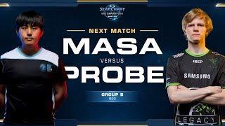 MaSa vs Probe TvP - Ro16 Group B Winners - WCS Winter Americas