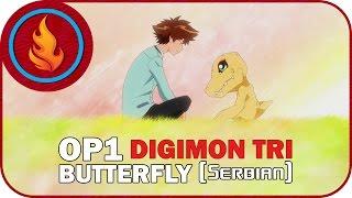 [RapidDub] Digimon TRI - Butterfly (SERBIAN)