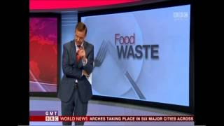 BBC World Service News (BBC America) Story on Food Waste 7/1/2014