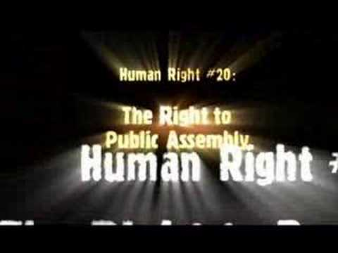 Human Rights Video: No One Can Take Your Rights