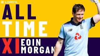 Ponting, De Villiers & Dhoni - Eoin Morgan's All Time XI