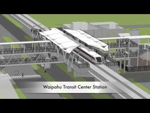 HART Station Renderings - East Kapolei to Aloha Stadium