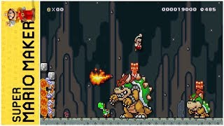 Bowser's Revenge Part 1 (by Devon) | Super Mario Maker Level