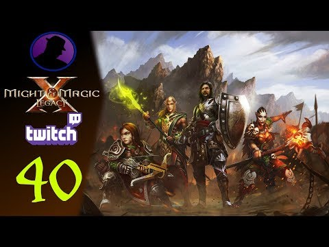 Let's Play Might & Magic X Legacy - (From Twitch) - Part 40 - The Tower Of A Thousand Terrors!