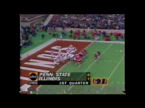 Ken Dilger catches vs Penn State 1994