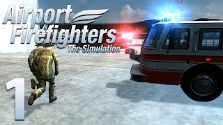 Airport Firefighters - The Simulation| Episode 1| Through the Fire