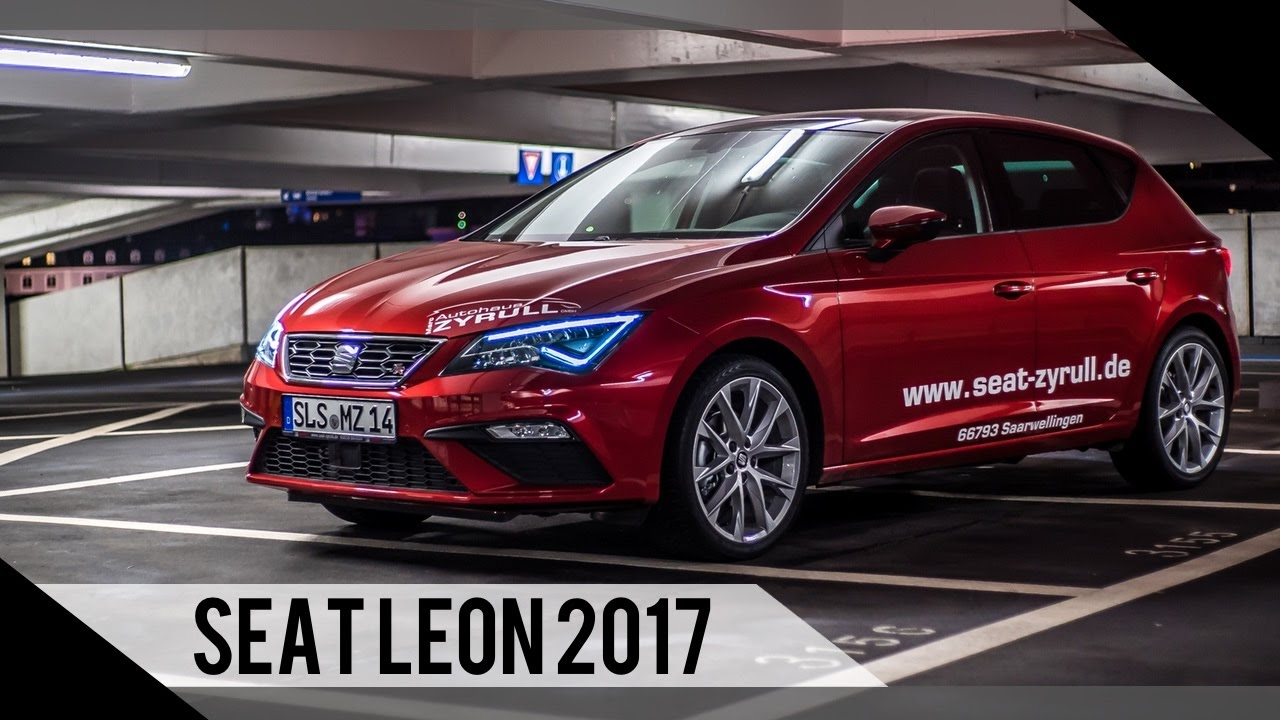 seat leon facelift 2017 test review fahrbericht motorwoche youtube. Black Bedroom Furniture Sets. Home Design Ideas