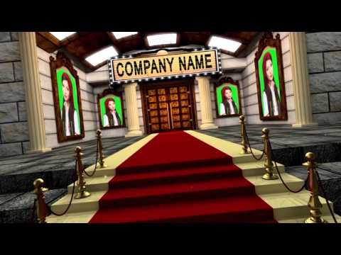 Grand celebrity Red Carpet opening Cinema Movie film Premiere Logo Reveal Titile intro