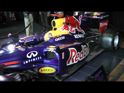 Red Bull RB8 F1 Car (Replica) @ 2012 Vancouver Auto Show.